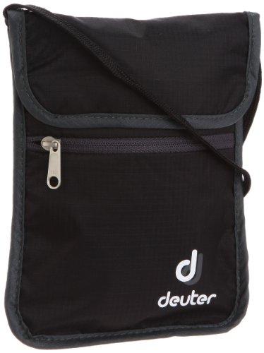 Deuter Brustbeutel Security Wallet II, black-granite, 18 x 14 x 0, 39210