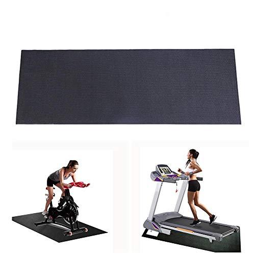 N/H Schutzmatte für Fitnessgeräte, Laufbandmatte Gym Bodenmatte, extra große Heimtrainer, Springseilmatte, Parkett- und Teppichschutz für Laufbänder, Mehrzweck-Trainingsmatte (23.6