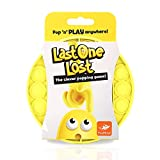 FoxMind, Last One Lost, Tactile Logic Travel Game for Kids, Family, and Friends - Yellow