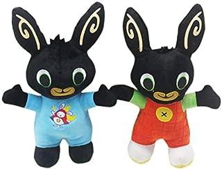 VKISI 25Cm Cartoon Bing Rabbit Plush Toy, Bing Friends P Sula Elephant Bear Stuffed Animal Plush Doll for Girls Toddler Must Haves Friendship Gifts The Favourite Anime Superhero Cake Topper