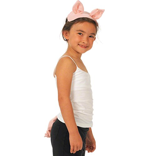 Pig Top N Tail animal fancy dress Set for children