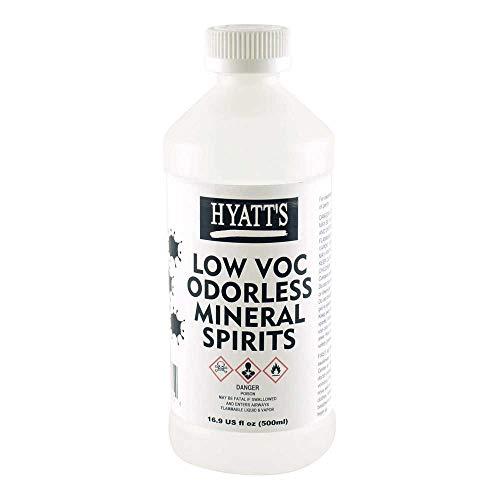 Hyatt's Low VOC Odorless Mineral Spirits 16 oz Bottle