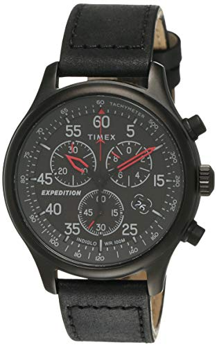 TIMEX Expedition Field Chronograph Analog Black Dial Men's Watch-TW2T73000