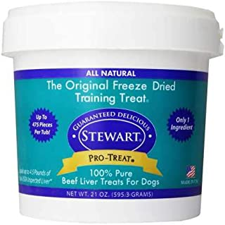 Stewart Pro-Treat, Freeze Dried Dog Treats, Grain Free, USA Made