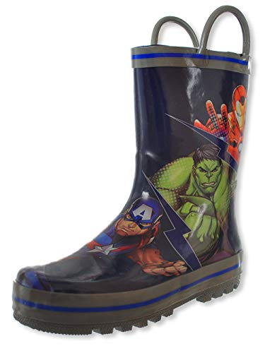 Favorite Characters Avengers Rain Boot (Toddler/Little Kid) Multi 11 Little Kid