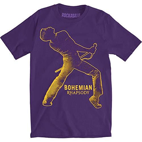 Camiseta masculina Queen BH Fortune Slim Fit roxa, Roxa, Medium