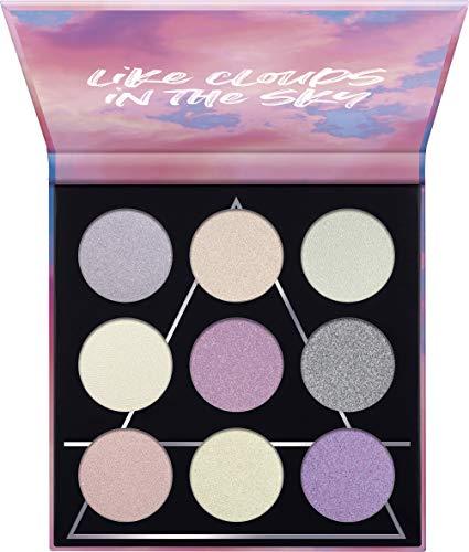 essence   AIR Eyeshadow Palette   9 Blendable, Dreamy Pink & Purple Shades   Gluten & Paraben Free   Cruelty Free