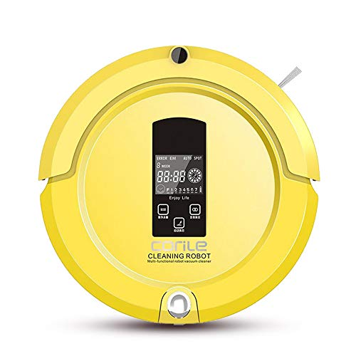 INSN Bluetooth-Fernbedienung Roboter-Staubsauger Mit UV-Entkeimungslampe, Selbstlade, Wischen Reinigungsmittel, Anti-Sturz Anti-Kollisionsschutz, Für Harte Böden Und Teppich