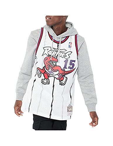 Mitchell & Ness Herren Tank Tops NBA Swingman Toronto Raptors Vince Carter weiß XL