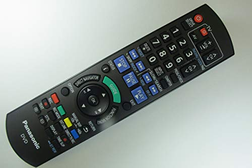 Panasonic DMR-EZ49VEBK Genuine DVD Recorder Remote Control N2QAYB000466 by Panasonic