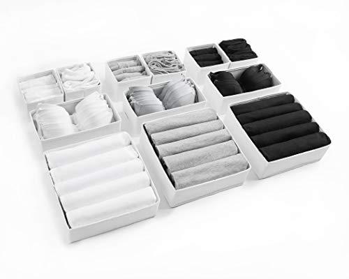 Orecchini e Gioielli TOPBATHY per Orecchini Supporto Girevole a 4 Ripiani Colore: Bianco