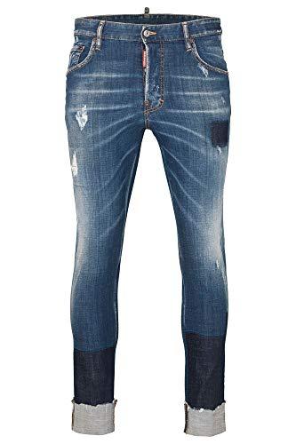 DSquared Skater Jean, Farbe:blau, Größe:52