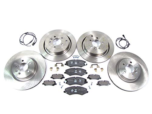 Complete Brake Kit with Genuine Brake Pads for Range Rover Sport (From VIN AA256676 On)