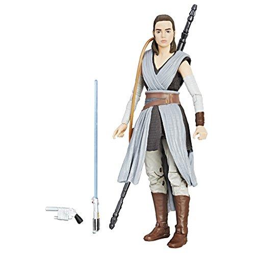Star Wars The Black Series - Rey (Apprendista Jedi) Personaggio Action Figure 15cm da Collezione con Accessori , C1415ES0