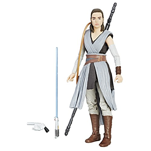 Hasbro Star Wars C1415ES0 - Episode 8 The Black Series 6 Zoll Figur: Rey, Actionfigur