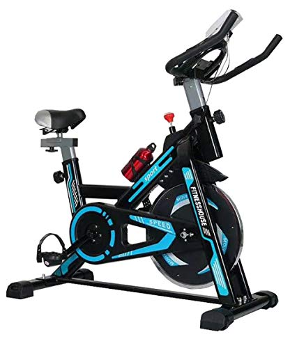 Fitness House Racer Sports Gold Bicicleta de Ciclismo Indoor, Unisex Adulto, Negro/Dorado, Talla Única