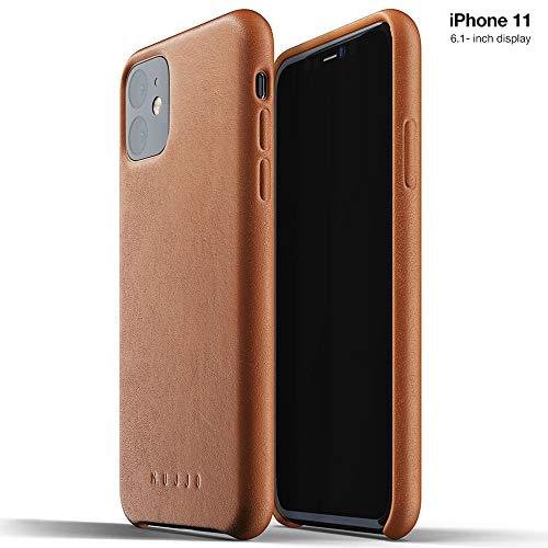 Mujjo Full Leather ケース 【 Apple iPhone 11 】 プレミアムソフトレザー 本革 (タン)