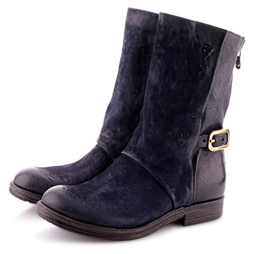 Airstep/A.S.98 Verti Botines/Low Boots Mujeres Azul - 40 - Botas De Caña Baja Shoes
