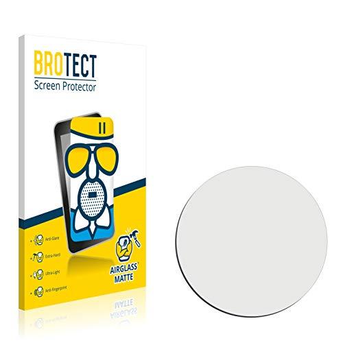 brotect Antireflexglas-Displayschutzfolie Kompatibel mit Uhren (Rundschreiben, Durchmesser: 40 mm) - Glasschutzfolie 9H, matt