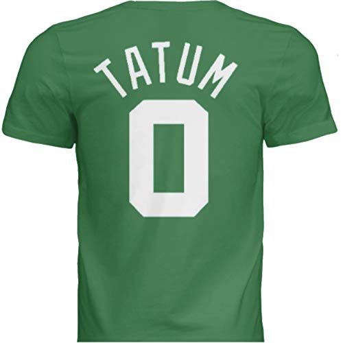 NWT New Tatum #0 Boston Green Custom Screen Printed Basketball T-Shirt Jersey No Brands/Logos Men's (Extra Large)