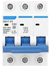 DZ47-63 3P-vermogensschakelaar 32A 400V bescherming tegen kortsluiting bij overstroom