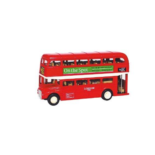 London Bus en métal L=12cm - 1:60