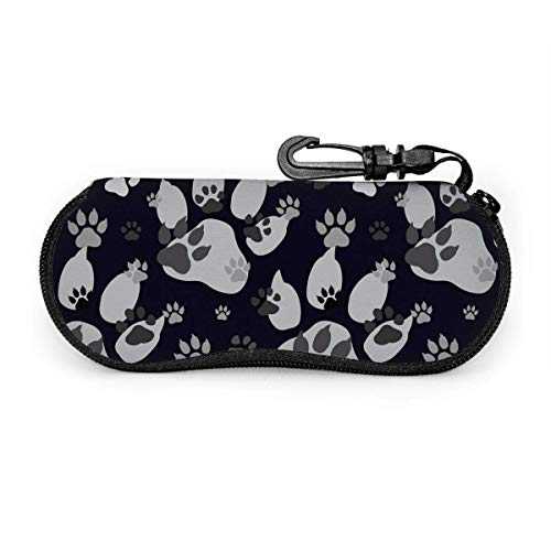 AOOEDM Birthday party pattern Glasses Case Spectacle Case Eyeglasses Glasses Case for Unisex
