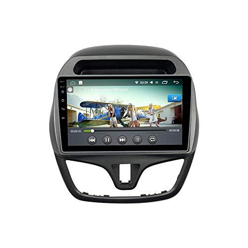 JIBO para Chevrolet Spark Beat Daewoo Matiz 2015-2018 Android 10 Auto Radio GPS Navegación Cabeza Unidad IPS Tocar Pantalla Nav Sat Teléfono Control BT Multimedia Jugador Video Receptor