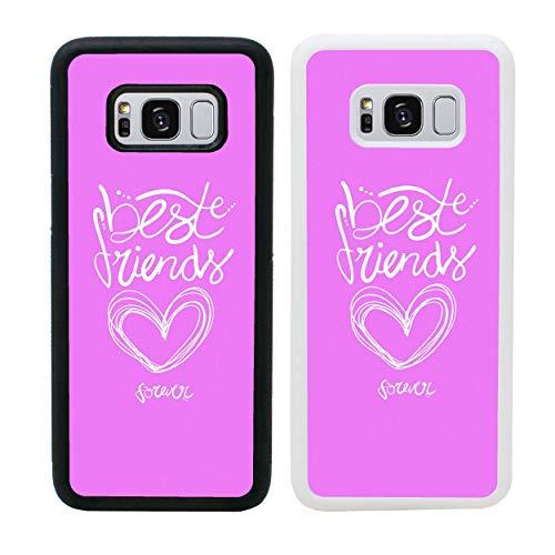 I-CHOOSE LIMITED Mejores Amigos Funda para Samsung Galaxy S10 Cubierta de Smartphone Parachoques de Protección para G973