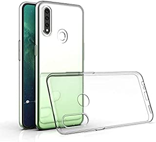Oppo A31 / A8 Case, Slim Soft TPU Silicone Clear Case [Anti-Yellow] [Drop Protection] [Anti-Slip] Transparent Case Protect...
