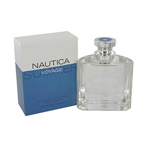Nautica Voyage Summer for Men Eau-de-Toilette Spray, 3.4-Ounce