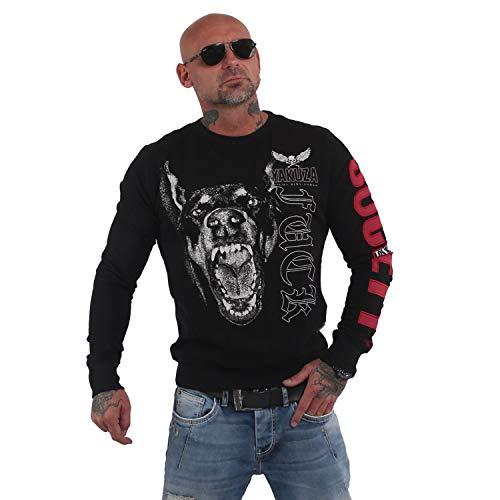 Yakuza Herren Fuck Society Pullover Sweater