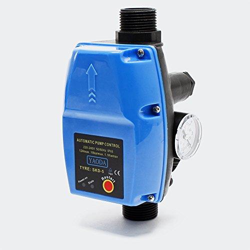 Druckschalter SKD-5 230V 1-phasig Pumpensteuerung Druckwächter für Hauswasserwerk Brunnenpumpe