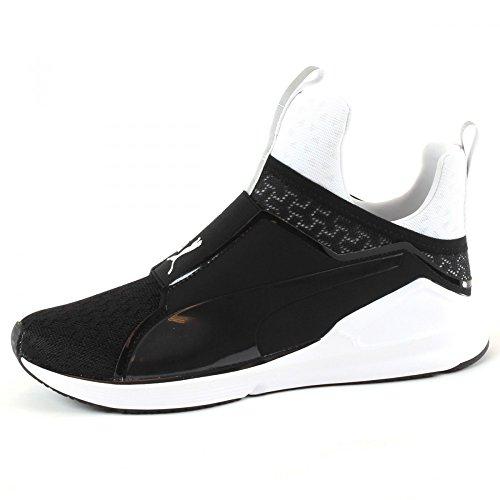 Puma Damen Fierce Eng Mesh Hohe Sneakers (42 Puma Black - Puma White)