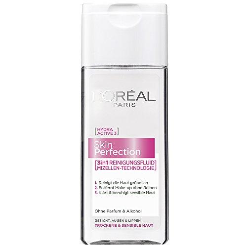 L'Oréal Paris Skin Perfection 3in1 Mizellen-Reinigungsfluid (6 x 200ml)