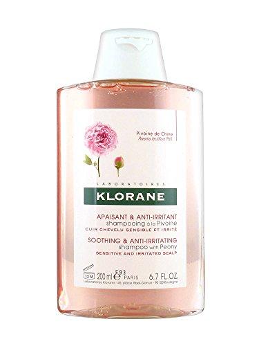 Klorane Champú al Extracto de Peonía Cuero Cabelludo Sensible 200 ml