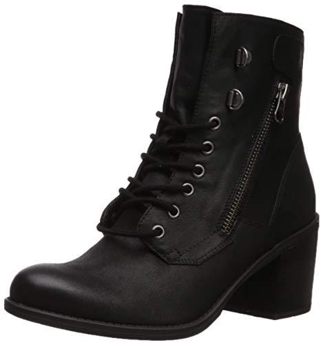WHITE MOUNTAIN Shoes Dorian Women's Boot, Black/Fabric, 9 M