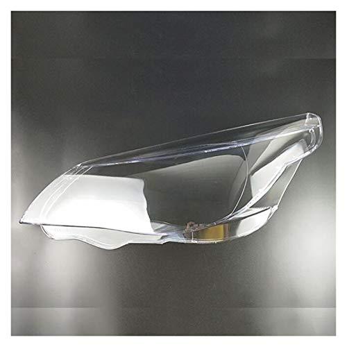Auto Objektiv Shell Auto-Scheinwerfer-Objektiv Glas Lampcover Abdeckung Lampshade Helles Shell Produkt Gepasst Fit For BMW E60 E61 525i 530i 545i 550i 2003-2010 Auto-Scheinwerfer Objektivabdeckung Aut
