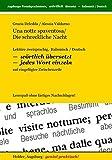 Una notte spaventosa /Die schreckliche Nacht: Lektüre zweisprachig, Italisch /Deutsch
