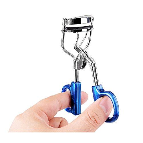 tinxi® Professionale Piegaciglia classica Qualità in acciaio Piegaciglia-Blu
