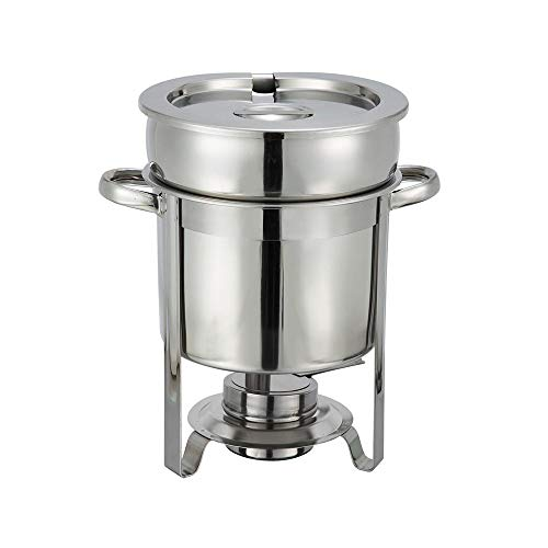 Winco Stainless Steel Soup Warmer, 7-Quart, Medium