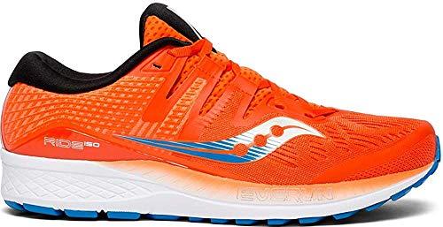 Saucony Ride Iso, Chaussures de Running Compétition Homme, (Orange/Blue 36), 43 EU