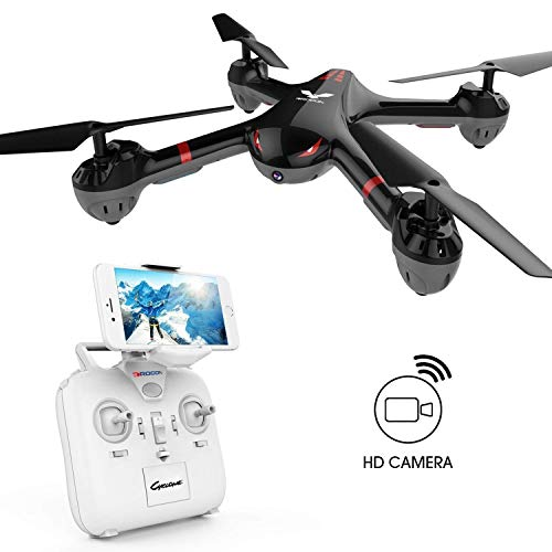 DROCON Drone for Beginners X708W Wi-Fi FPV Training Quadcopter with HD Camera...