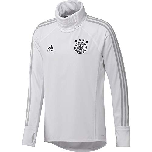 adidas Herren DFB Warm Top, White/Grey Two f17/Black, L