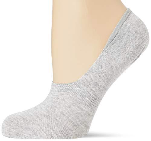 Nur Die womens Damen Füssling Socks, hellgraumel, 39-42