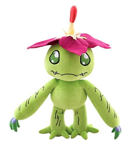 nanyin Digimon Palmon Plüschpuppenspielzeug 35Cm, Kaktus Cartoon Figur Kuscheltiere Kinderspielzeug