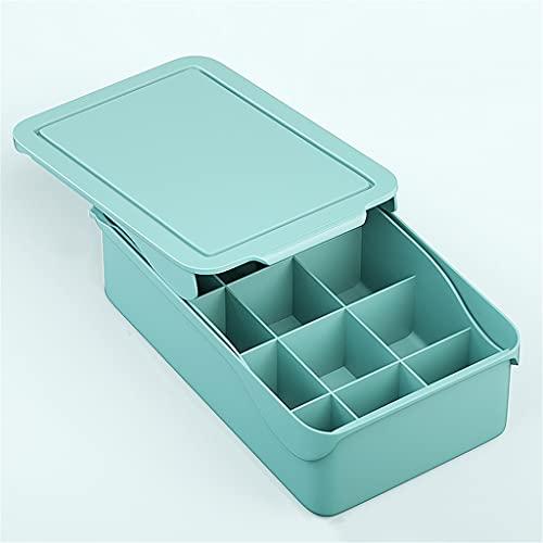 YFQHDD 15 Gridos Organizador de Archivo for Calcetines Caja de Almacenamiento de Ropa Interior Separados for el hogar Organizador de cajones de Ropa (Color : B, Size : 10.5 * 24.5 * 33.5cm)