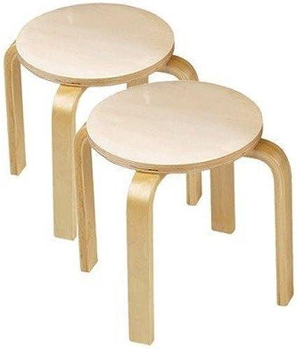 tienda Wooden Sitting Stools (set of of of 2) by Anatex  mejor marca