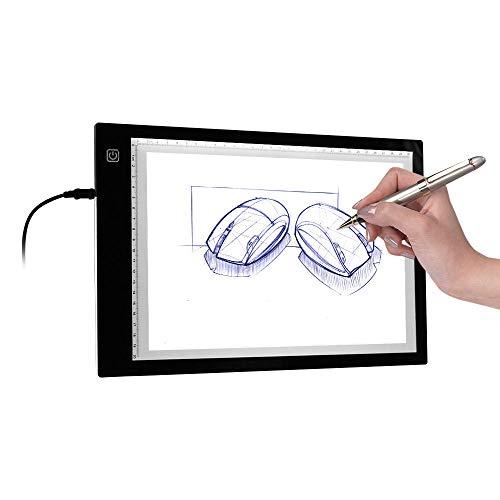 A4 Kopieer Lichte Doosa4 Ultradunne Light Pad Tracer Usb-Aangedreven Led-Lichtbak Kopieerbord 3 Niveaus Instelbare Helderheid Voor Schetsen Van Tekeningen