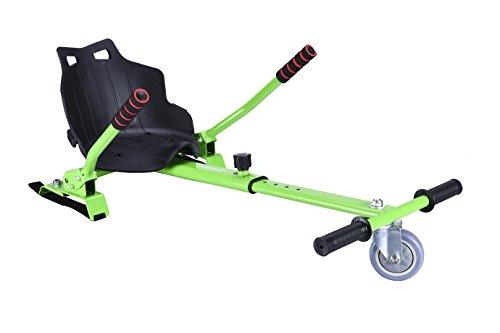 Hoverkart compatible con todos los hoverboards (6.5, 8, 10y de otros tamaños), verde